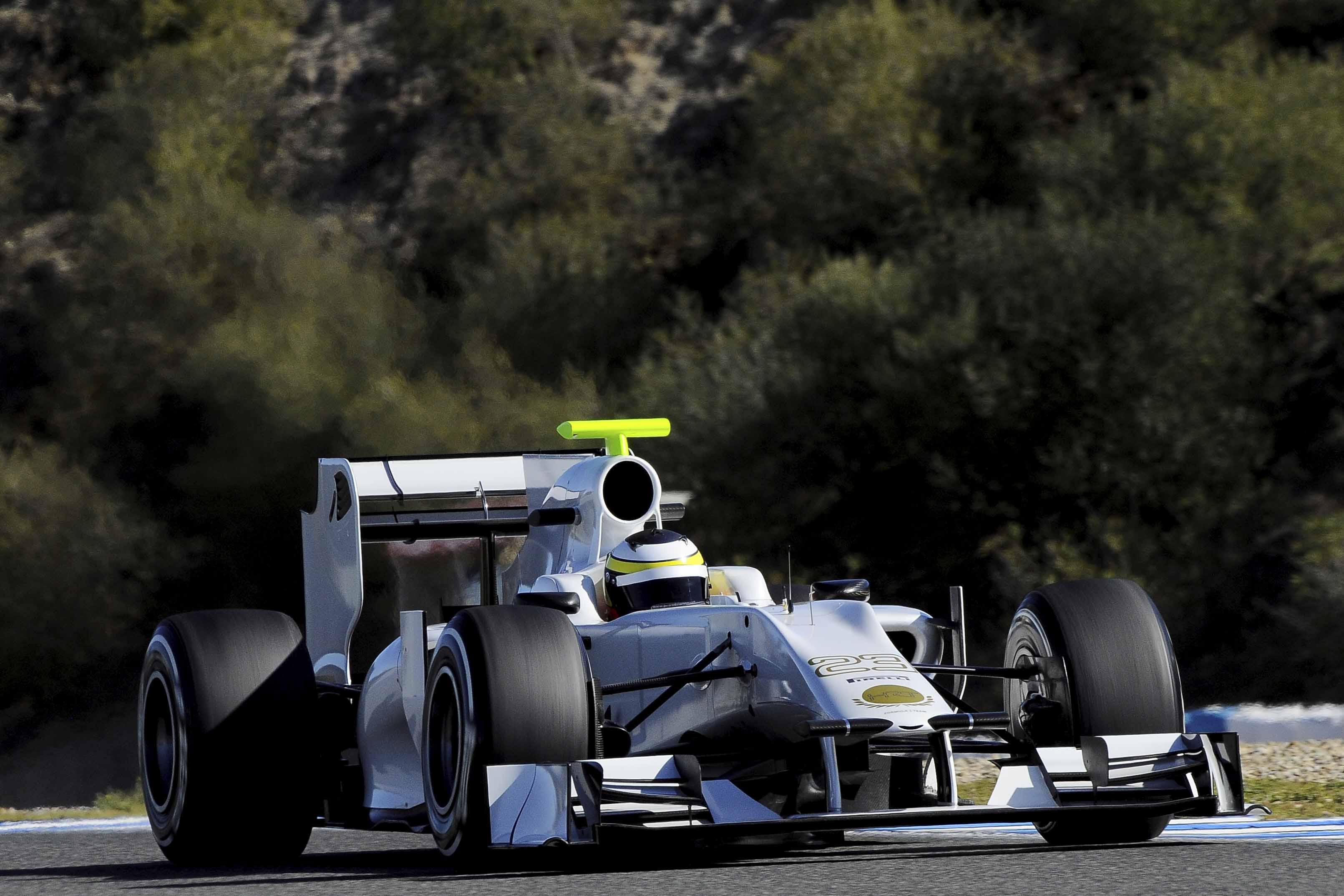 Formula 1 – HRT – Day 2 – Jerez Test